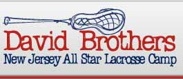 David Brothers NJ All Star Lacrosse Camp