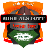Mike Alstott football camp