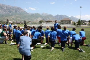 youth wide receiver camps