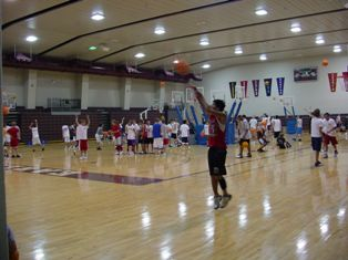 Dick wildt basketball camp
