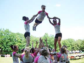 Pine Forest Cheerleading Camp