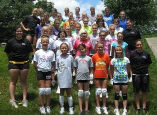 McCracken Midwest Volleyball Camp For Youth
